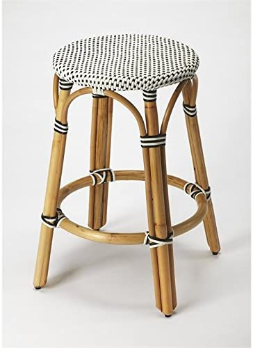 Beaumont Lane 24 Counter Stool in Black