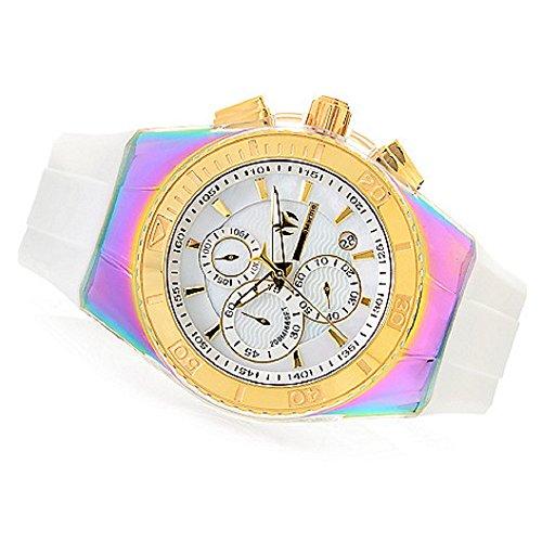 technomarine-unisex-tm-115369-cruise-gold-with-white-strap
