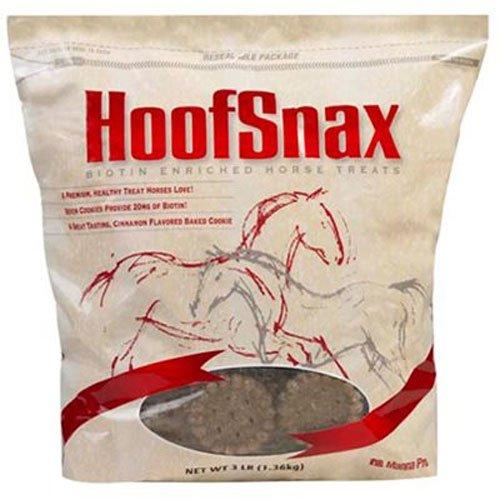 51zmtCO1DmL - Manna Pro 05-9352 Hoof Snax Biotin Enriched Horse Treats, 3.2-Pound