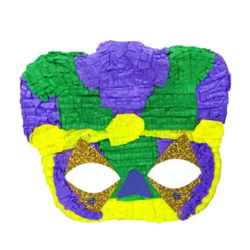 Mardi Gras Mask Pinata -