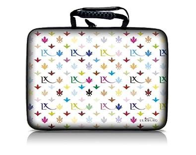 aeee8a0711 Luxburg® design hardcase sacoche housse rigide pour ordinateur portable  15,6 pouces, motif: LX Modèle noir: Amazon.fr: Informatique