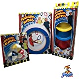 Juggling Set-Intermediate-Includes Juggling Balls, Juggling Rings, and Juggling Plates by Juggle Mania