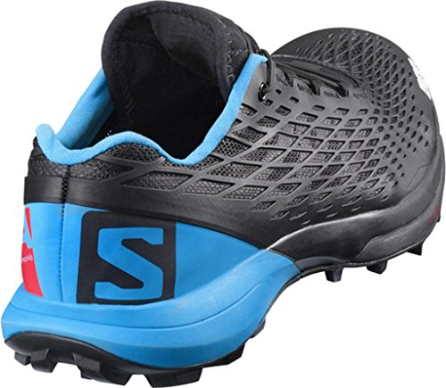 Salomon S-Lab Xa Amphib, Zapatillas de Trail Running Unisex Adulto Negro (Black/Transcend Blue/Racing Red)