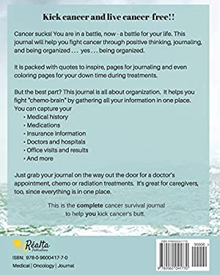 My Cancer Journey: Kick Cancer, Live Free by Dianne Terry ...