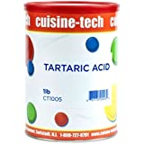 Tartaric Acid - 1 can - 1 lb