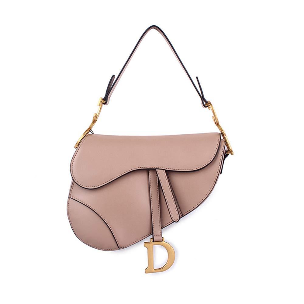 Womens Claasic Brown Chain Strap Crossbody Bag