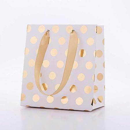 10 bolsas de regalo de fiesta con asa para cumpleaños, bodas ...