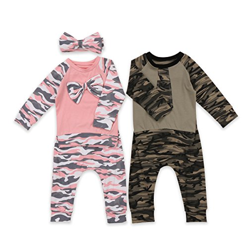 gllive Family Matching Clothes Baby Daddys Boy Girl Camouflage Long Sleeve T-shirt Tops Long Pants Casual Outfit
