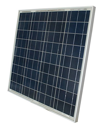 WINDYNATION-Complete-Solar-60-Watt-Panel-Kit-60W-Solar-Panel-20A-LCD-Display-PWM-Charge-Controller-MC4-Connectors-Solar-Cable-Mounting-Brackets-12V-Battery-off-grid-RV-Boat-Gate