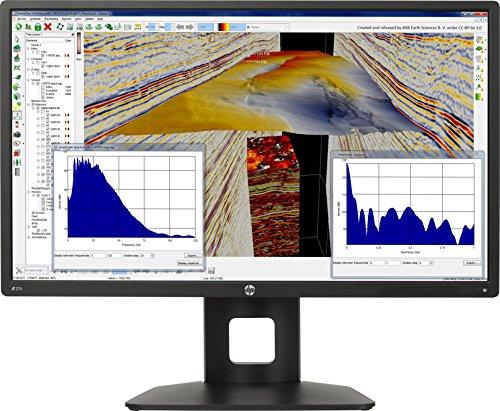 HP Z27s J3G07AT 68,6 cm (27 Zoll UHD) Monitor (4k Monitor, USB 3.0, HDMI, 6ms Reaktionszeit, 3840 x 2160) schwarz