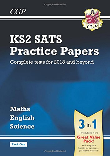 New KS2 Complete SATS Practice Papers Pack: Science, Maths & English ...