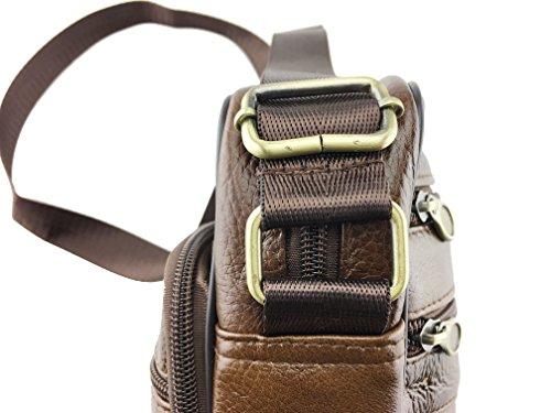 hombro hombre marrón Wildman marrón para Bolso al marrón 7nEw8