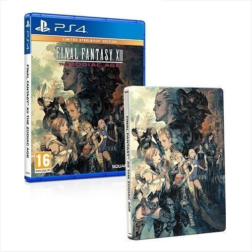 Final Fantasy Xii The Zodiac Age   Limited Steelbook Edition  Ps4  Uk Import Region Free
