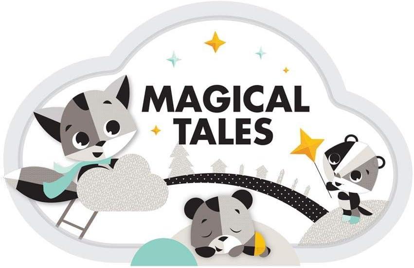 Tiny Love Magical Night Polar Wonders 9 melod/ías apto desde el nacimiento a partir de 0 meses M/óvil proyector con luz nocturna de estrellas y m/úsica