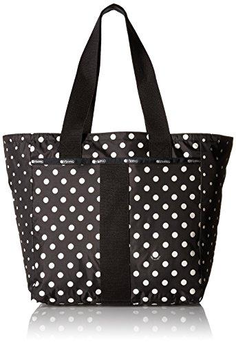 Tote Print Dots Polka - LeSportsac Everyday Tote, Sun Multi Black
