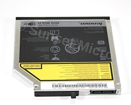 Genuine IBM Lenovo Thinkpad T400, T410, W500 Laptop Optical Drive 42T2545 45N7451 42T2551 (Laptop Ibm T400)