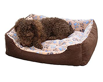 Cómoda y Suave Casa Para Mascotas, Cama Para Perros Para Descansar Dormir Jugar (L(70*55*13 cm)): Amazon.es: Coche y moto
