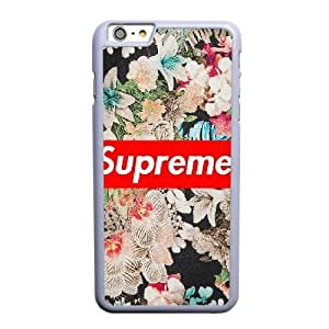 Generic supreme wallpaper image Fashion Cell Phone Case for iPhone 6 6S plus 5.5 inch White HT_3914396