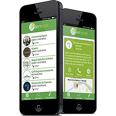 BATTEVER Cargador de móvil para Bares y restaurantes, Cargador de hostelería (Modelo Slim / 10.000 mAh) + Promoción en App: Amazon.es: Electrónica