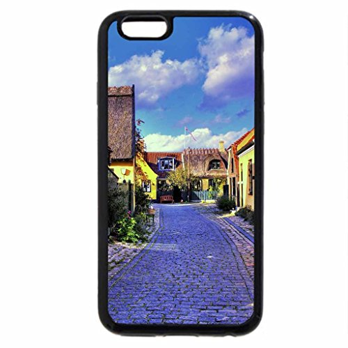 iPhone 6S / iPhone 6 Case (Black) lovely yellow house in a denmark town hdr