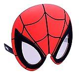 0e47e9ca6a Sunstaches Marvel Spiderman Character Sunglasses