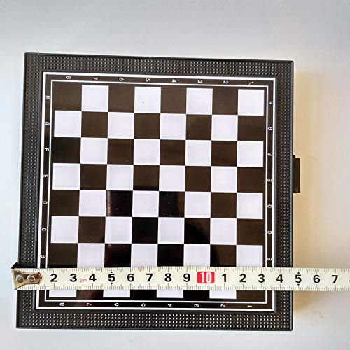 Yalatan Tablero magnético 5 en 1 Chessmen Checkers, Kids Flying Chess Classic Flying Puzzle Game Set para Regalo de…
