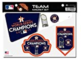 Houston Astros 2017 World Series Champions Multi Die Cut Magnet Sheet Heavy Duty Auto Home Baseball