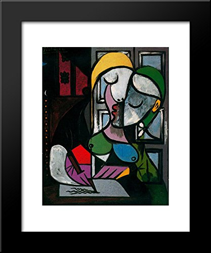 Woman writing 20x24 Framed Art Print by Picasso, Pablo for sale  Delivered anywhere in USA