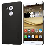 Mate 8 Case,Leevin(TM) Frosted Hard Case Cover with HD Screen Protector for HUAWEI Ascend MATE 8 (Frosted Black)