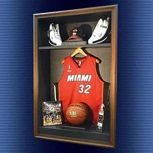 NBA Locker Room Cabinet Style Display Case