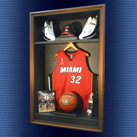 Amazon.com : NBA Locker Room Cabinet Style Display Case : Sports ...