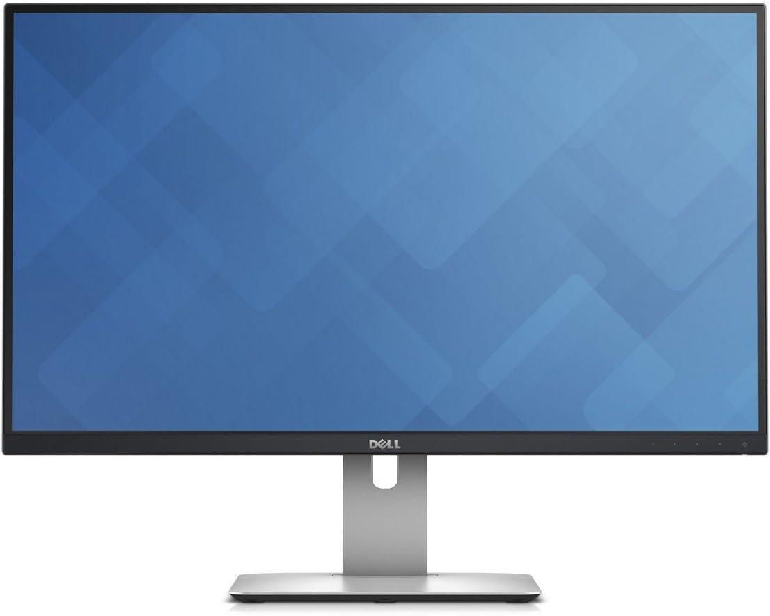 "DELL UltraSharp U9H 9"" Wide Quad HD IPS Matt Black,Silver computer  monitor"