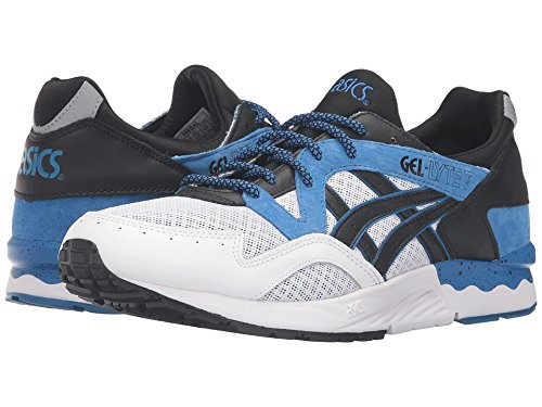 f56666b397256 Image Unavailable. Image not available for. Color  ASICS Tiger Gel-Lyte V  Classic Blue Black Shoes