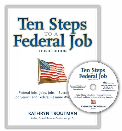 strategies for writing a winning federal resume 6th edition