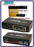 Pro-Techgroup Deluxe Model VGA SVGA SXGA Monitor Projector Splitter / Multiplier Box with 400 Mhz Bandwidth