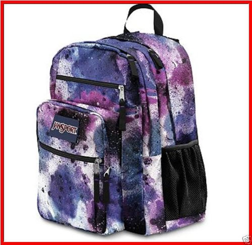 Brand New Jansport BIG STUDENT Backpack - 2100 cu X-Large - SPRAY ...