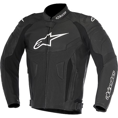 Alpinestars GP Plus R v2 Mens Airflow Leather Jacket Black 52 EUR