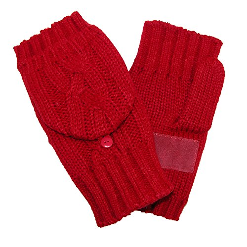 Isotoner Womens Chunky Convertible Gloves product image