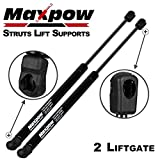 Maxpow Qty (2) 6124 Tailgate Gas Charged Lift Support Struts Compatible With 2008 2009 2010 2011 2012 2013 2014 Dodge Grand Caravan