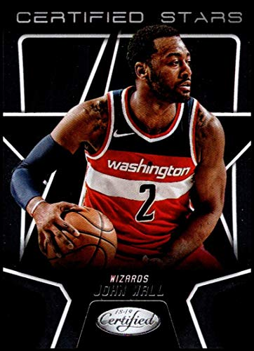 2018-19 Panini Certified Certified Stars #CSR-30 John Wall NM-MT Washington Wizards Official NBA Basketball -