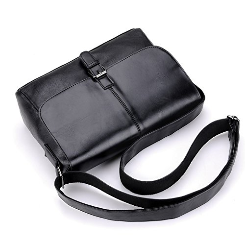 Bag Bag Schwarz Umhängetasche Messenger Meoaeo Männer Lässige qUTwqY6