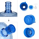6 gallon beverage cooler - 10 PCS Anti Splash Bottle Caps, 2.17 inch Splash Bottle Reusable Gallon Caps a Handle