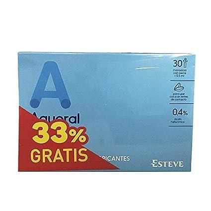 Aquoral gotas oftalmicas, 30 unidades monodosis de 0,5 ml,DUPLO