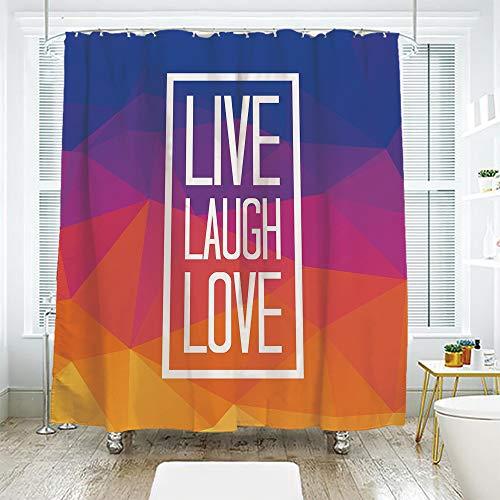 scocici Bathroom Curtain Separation Door Curtain Shower Curtain,Live