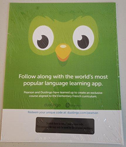 Duolingo -- Access Card -- Elementary French (Single-Semester)