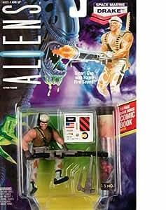 "Aliens Space Marine Drake 5"" Action Figure (1992 Kenner)"