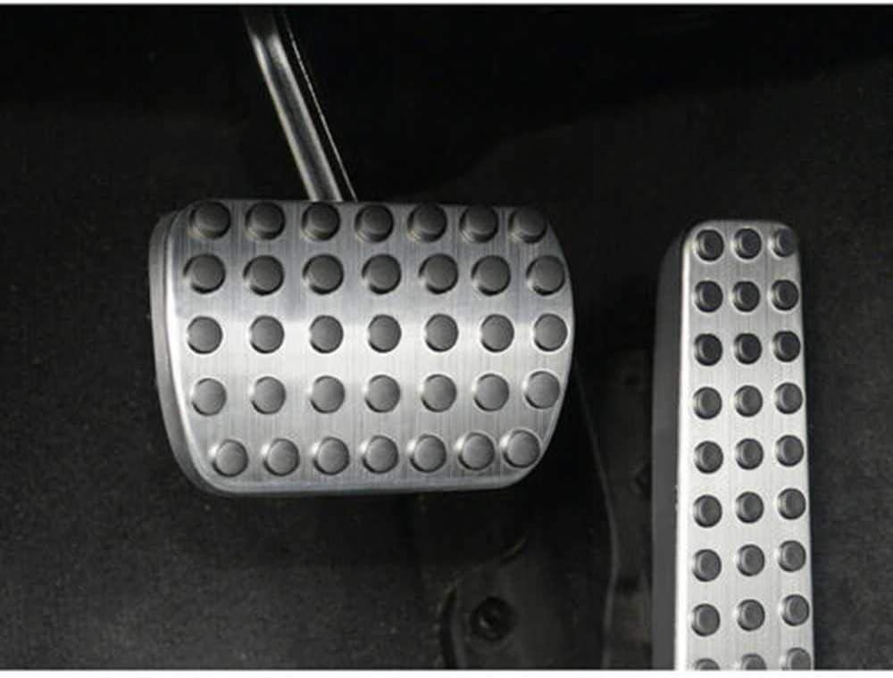 Pedalauflagen Auto Interior No Drill Kraftstoffbremsdeckel 2St nur Automatikgetriebe Seven Continents F/ür Benz C-Klasse W205 S-Klasse W222 2014+