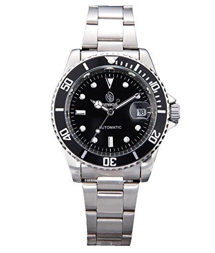 Sewor Men's Elegant Dress Stainless Steel Men's Automatical Watch