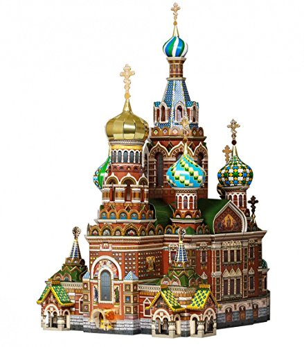 Innovative 3D-Puzzles - Church on The Blood (St. Petersburg, Russia) - Historical Buildings Series by Clever Paper