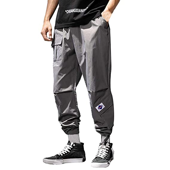 Pantalones Cargo Hombre Largos, Pantalones De Chandal Hombre, Moda ...